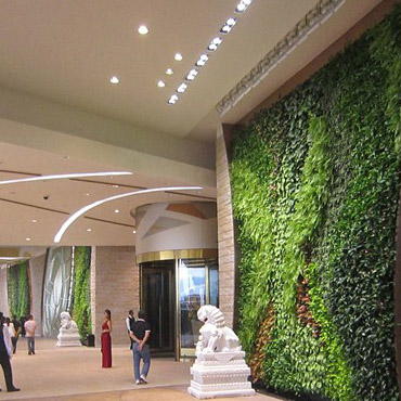 Artificial plant wall is very Used today for decoration in wall, Hotel's Lobbys,restaurant and several more places.