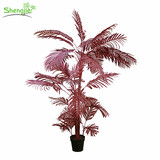 Realistic artificial kwai potted plant