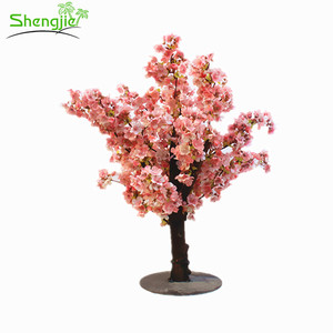 Wedding artificial cherry blossom tree for cherry blossom tree for centerpiece