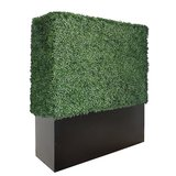 Plastic Artificial Boxwood Hedge Wall