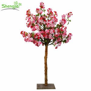 Artificial wedding cherry blossom tree