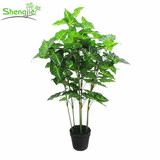 Artificial bonsai leaves plant for home decor
