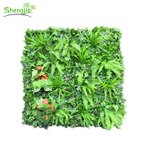 Artificial green backdrop plants wall for decoration